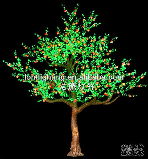 outdoor lighted cherry blossom tree 5m large outdoor projection led cherry tree light view