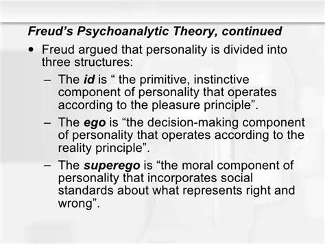 personality theories theories of personality