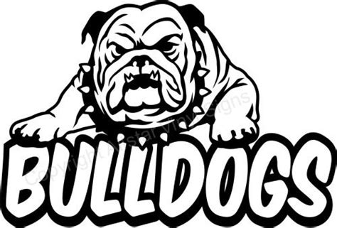 school mascot bulldog clip art home schools and teams