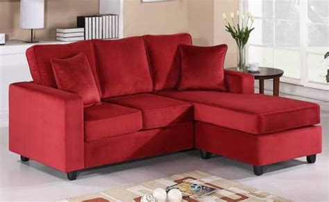 red sofa with chaise red chaise sofa klaussner fletcher ious sectional with