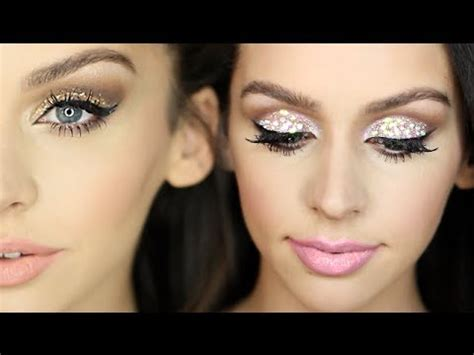 new year make up 2 sparkly new years makeup looks