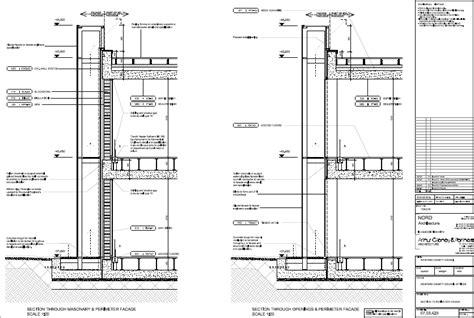 facade section detail double facade wexford county council jpg 836 215 561