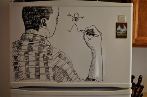 Easy Things To Draw On A Whiteboard by Brilliant Refrigerator Erase Drawings By