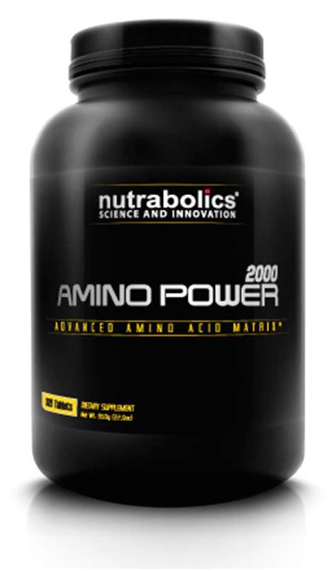 Suplemen Amino 2000 Nutrabolics Amino Power 2000 Jual Suplemen Amino Power