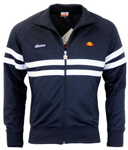 Ellesse Kalgaris Fz Track Top Original ellesse rimini 1 retro 1980s chest stripe track top dress blue