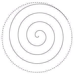 spiral tree template moldes para hacer flores en espiral de papel ideas de