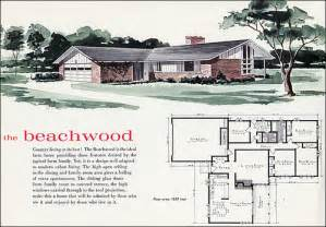 1960 S Modern Home Design 1960 Beachwood House Plan See Mid Century Home Style For