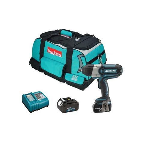 Mesin Bor Merk Makita makita btw450rfe mesin obeng bor baterai charger 18v lxt