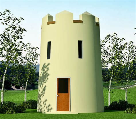 tower house plans tower house plan earthbag house plans