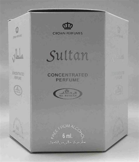 Parfum Al Rehab Sultan sultan 6ml 2oz roll on perfume by alrehab box of 6