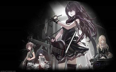 anime girl rock wallpaper the crazy sisters a blog run by the craziest girls you