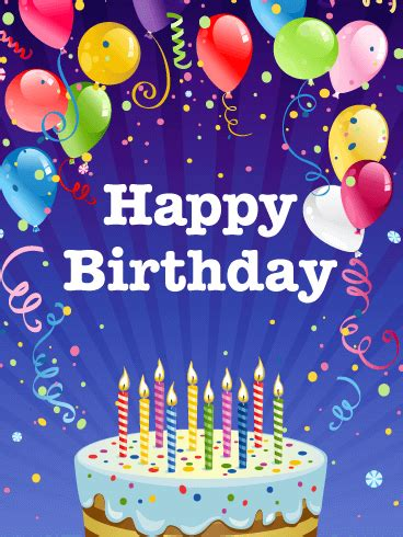 Birthday Card Images For Astonishing Birthday Party Card Birthday Greeting