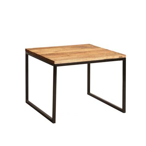 muebles de madera y hierro mesa rincon de hierro y madera el globo muebles
