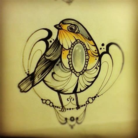 robin tattoo design robin bird designs
