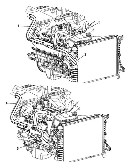 5080541aa Genuine Dodge Hose Heater