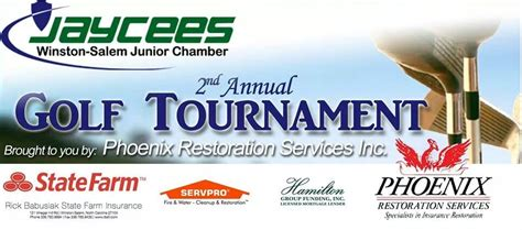 jaycees golf tournament triad and networking