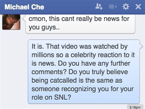 michael che catcalling micheal che responds to catcalling video business insider