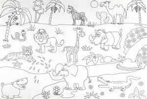 Pin Kolorowanka Zwierzęta Obrazek Z Kr&243liczkami I Kr&243likiem Dla  sketch template