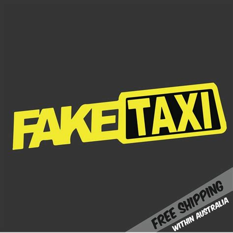 jdm car stickers fake taxi sticker decal funny jdm drift turbo hoon race