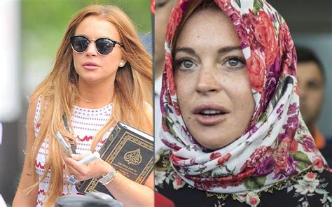 Lindsay Lohan Is Religious And by Did Lindsay Lohan Converted To Islam