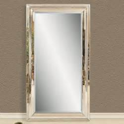 modern venetian leaning floor mirror 47w x 83h in