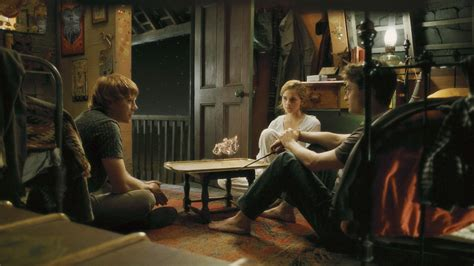 hermiones room trio in hbp harry and hermione photo 7390784 fanpop
