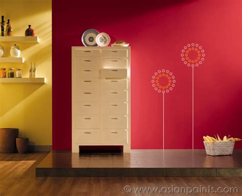 royale luxury emulsion paints for kitchen wall fashion sun spray scarlet 8085 stencil colour