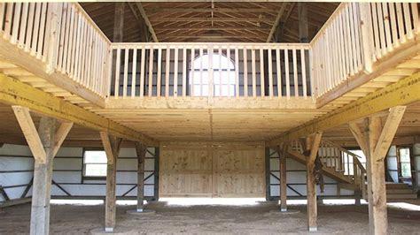 pole barn designs  loft pole barn  loft designs