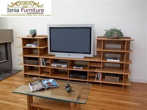 Meja Tv Roda meja rak tv kayu jati susun model kursi cafe dan kursi