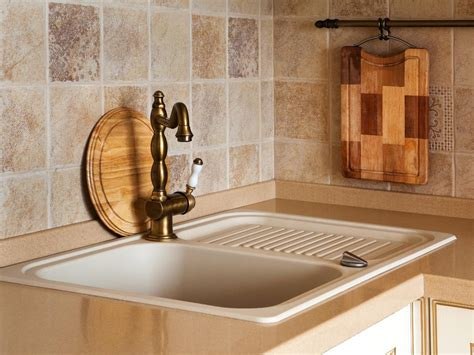 Installing Kitchen Faucet by Travertine Backsplashes Pictures Ideas Amp Tips From Hgtv