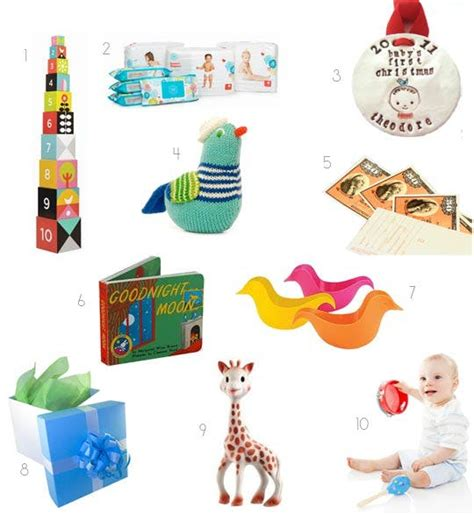 best gifts for baby s first christmas apartment therapy