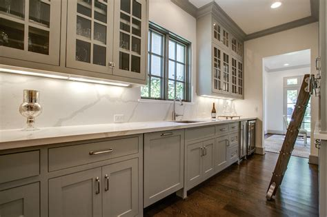 vicostone calacatta quartz transitional kitchen