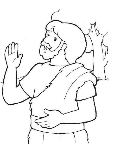 coloring pages john the baptist graphic of john the baptist pages coloring pages