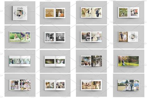 photo album template wedding photo album template v485 brochure templates