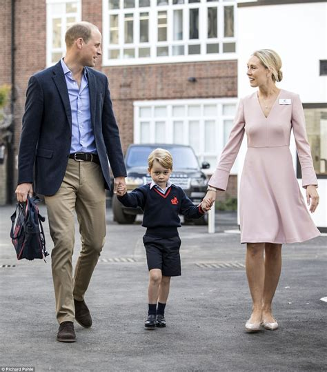 day george prince george arrives for his day of school daily