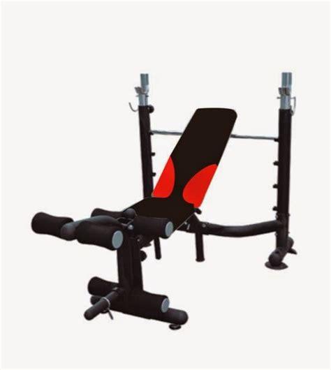 Kursi Alat Fitness Bench Press Abdominal Exercise alat fitnes murah