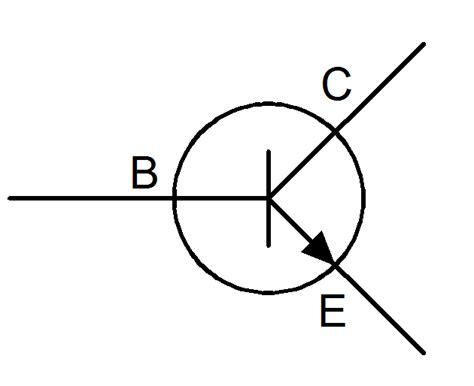 transistor pnp symbol image gallery transistor symbol
