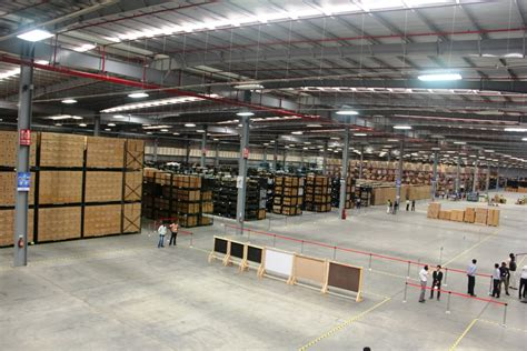 Nissan Warehouse by Nissan India Inaugurates New Parts Distribution Centre In