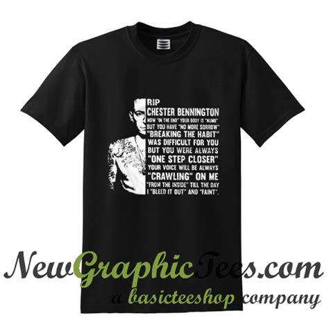 T Shirt Chester Bennington Linkin Park Ds2110 rip chester bennington linkin park t shirt