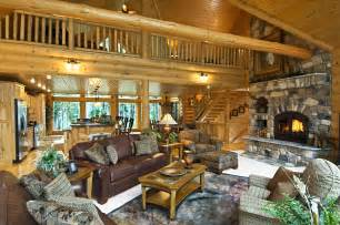 Luxury Log Home Interiors Log Home Interiors Log Cabin Interior Design Ideas Decorating For Luxury Home Log Cabin