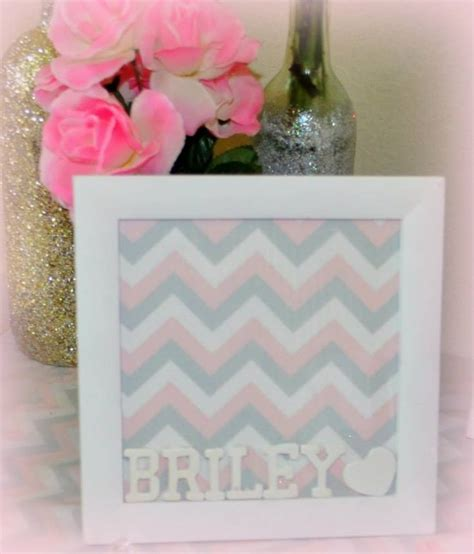 Pink And Grey Chevron Baby Shower Decorations by Pink Gray And White Chevron Baby Shower Crafts