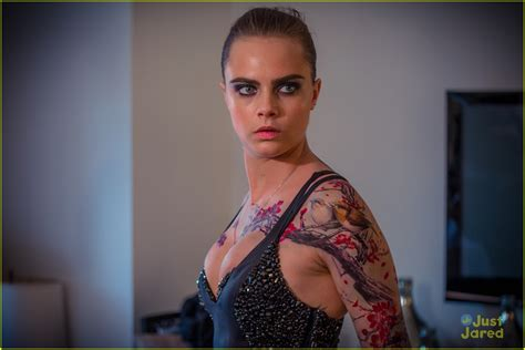 cara delevingne tattoo cara delevinge s met gala tattoos were created by