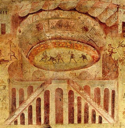 fresco pompeii the pompeii hitheatre fresco a post by