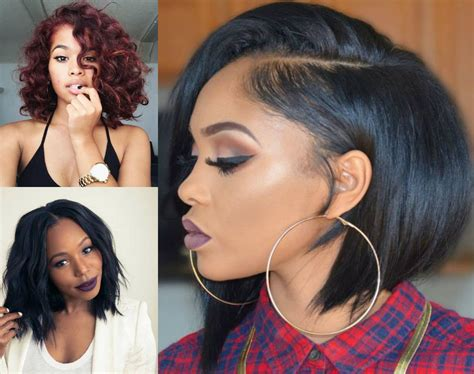 black bob hairstyles to consider today hairdrome - Bob Hairstyles On Black Hair