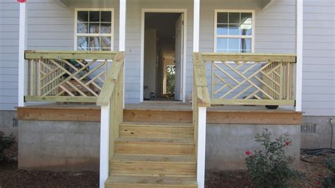 front porch railing ideas karenefoley porch and chimney