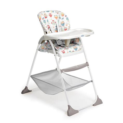 owl high chair joie joie mimzy snacker highchair owls bluewater 163 50 00