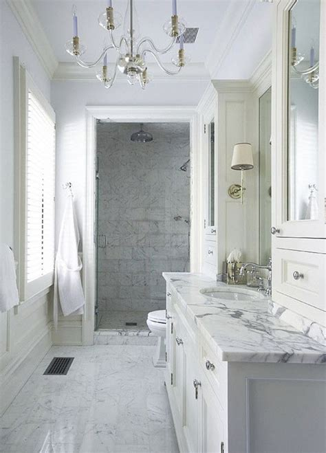 marble bathroom designs 29 white marble bathroom floor tile ideas and pictures