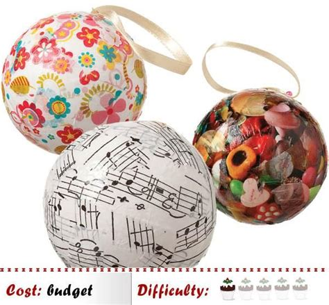 Decoupage Baubles - 19 best images about decoupage on papier mache