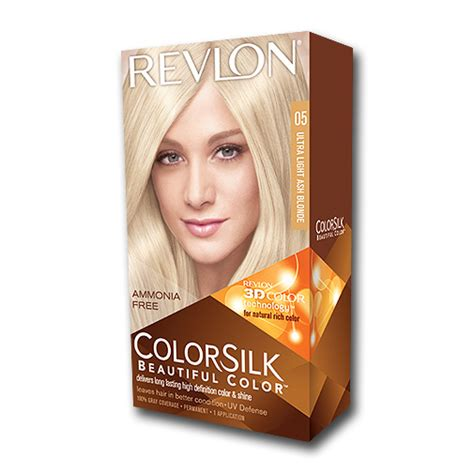 revlon soni za kosu revlon colorsilk farba za kosu 05 ultra light ash blonde