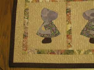 Sue Bonnet Quilt by Sue Bonnet Quilt Quilts Sunbonnet Sue